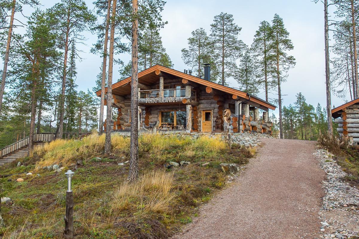 финляндия дома из сухой сосны фото виды